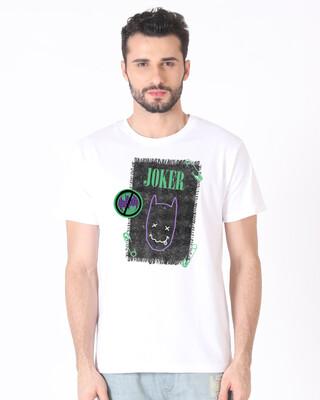 Shop Joker Cloth Clip Half Sleeve T-Shirt (BML)-Front
