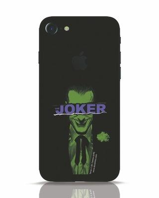 Shop Joker Torn iPhone 7 Logo Cut Mobile Cover (BML)-Front