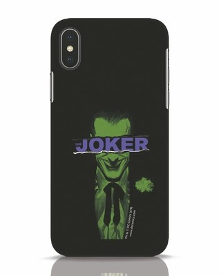 Shop Joker Torn iPhone X Mobile Cover (BML)-Front