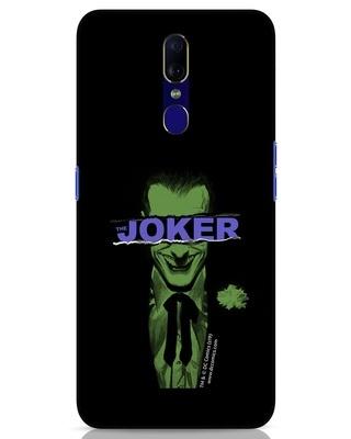 Shop Joker Torn Oppo F11 Mobile Cover (BML)-Front