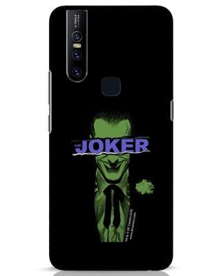 Shop Joker Torn Vivo V15 Mobile Cover (BML)-Front
