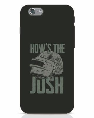 Shop Josh Pubg iPhone 6 Mobile Cover-Front