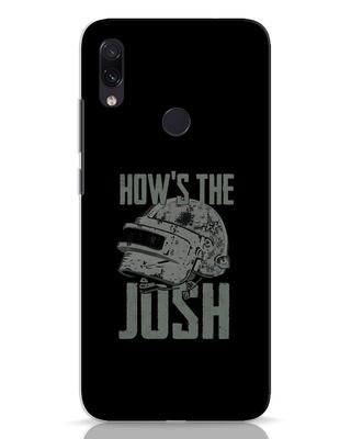 Shop Josh Pubg Xiaomi Redmi Note 7 Mobile Cover-Front
