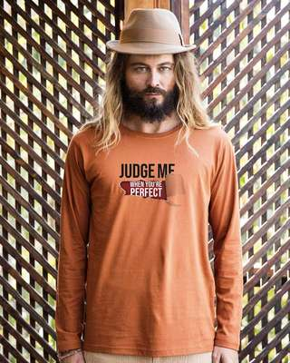 Shop Judge Me Full Sleeve T-Shirt-Front