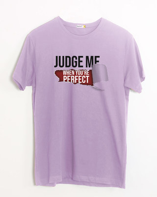 Shop Judge Me Half Sleeve T-Shirt-Front
