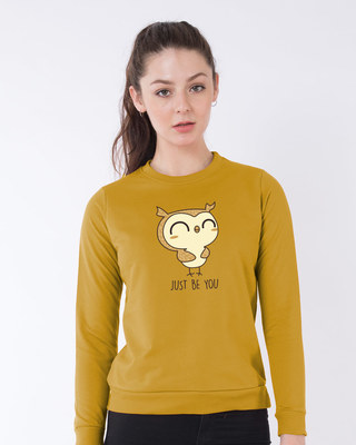 Shop Just Be You Sweatshirt-Front