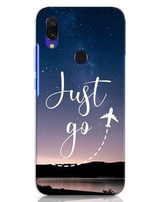 Shop Just Go Xiaomi Redmi 7 Mobile Cover-Front