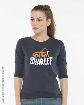 Buy Kaafi Shareef Round Neck 3/4th Sleeve T-Shirt Online India @ Bewakoof.com