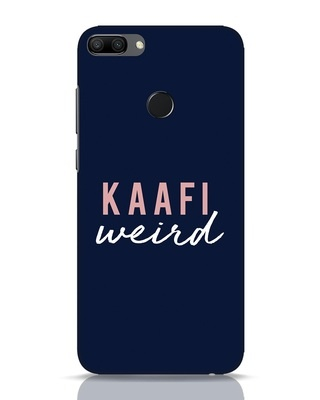 Shop Kaafi Weird Huawei Honor 9N Mobile Cover-Front
