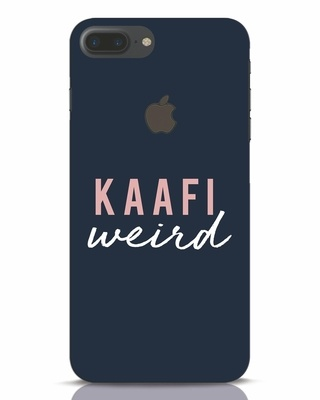 Shop Kaafi Weird iPhone 7 Plus Logo Cut Mobile Cover-Front