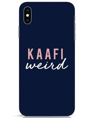 Shop Kaafi Weird iPhone XS Max Mobile Cover-Front