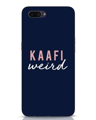 Shop Kaafi Weird Oppo A3S Mobile Cover-Front