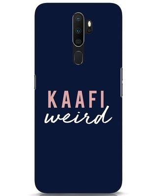 Shop Kaafi Weird Oppo A5 2020 Mobile Cover-Front