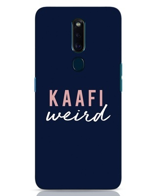 Shop Kaafi Weird Oppo F11 Pro Mobile Cover-Front