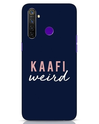 Shop Kaafi Weird Realme 5 Pro Mobile Cover-Front