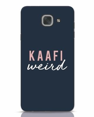 Shop Kaafi Weird Samsung Galaxy J7 Max Mobile Cover-Front