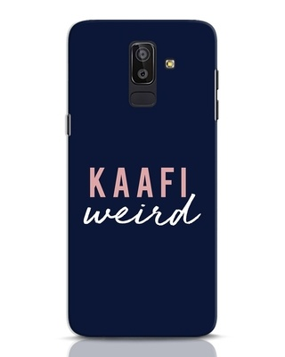 Shop Kaafi Weird Samsung Galaxy J8 Mobile Cover-Front