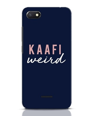 Shop Kaafi Weird Xiaomi Redmi 6A Mobile Cover-Front