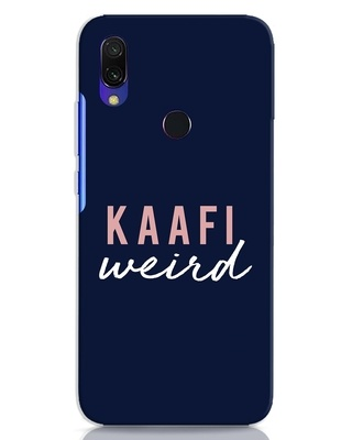 Shop Kaafi Weird Xiaomi Redmi 7 Mobile Cover-Front