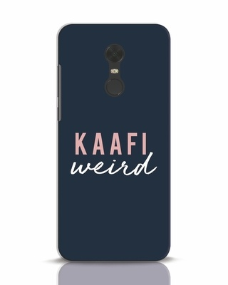 Shop Kaafi Weird Xiaomi Redmi Note 5 Mobile Cover-Front