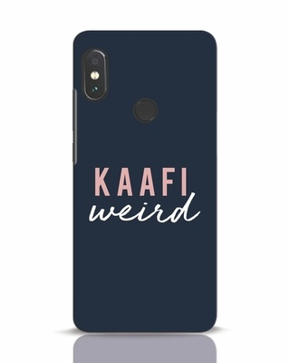 Shop Kaafi Weird Xiaomi Redmi Note 5 Pro Mobile Cover-Front