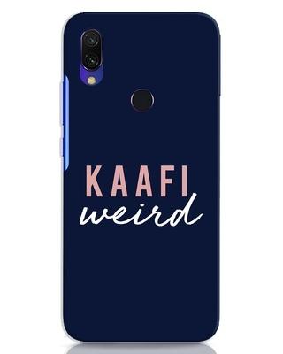Shop Kaafi Weird Xiaomi Redmi Y3 Mobile Cover-Front