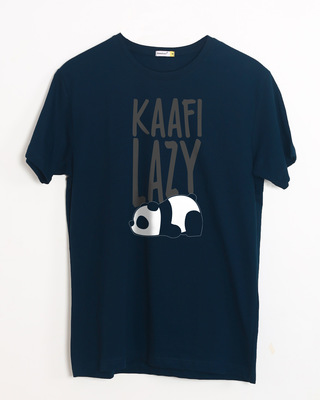 Shop Kafi Lazy Half Sleeve T-Shirt-Front