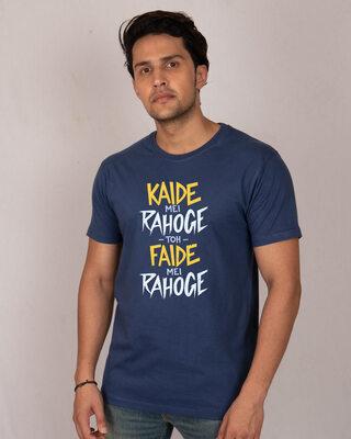 Shop Kaide Mei Rahoge Half Sleeve T-Shirt-Front