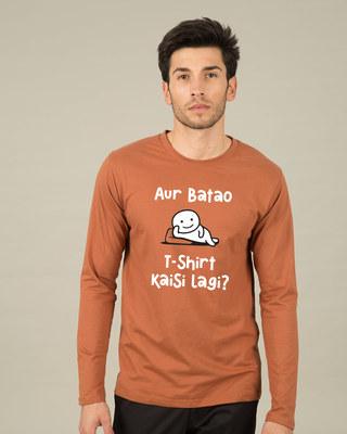 Shop Kaisi Lagi Full Sleeve T-Shirt-Front