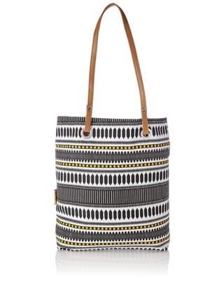 Shop Kanvas Katha Stylish Multicolor Printed Tote Bag-Front