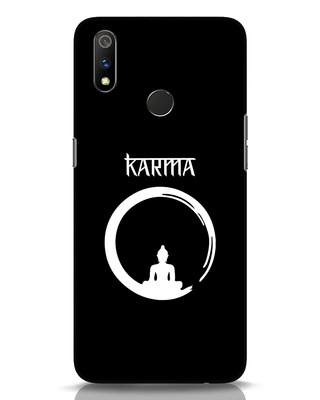 Shop Karma Cycle Realme 3 Pro Mobile Cover-Front
