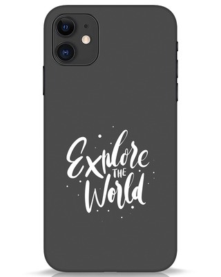 Shop Keep Exploring iPhone 11 Mobile Cover-Front