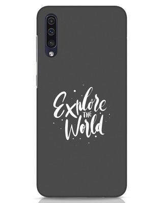 Shop Keep Exploring Samsung Galaxy A50 Mobile Cover-Front