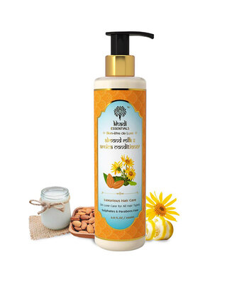 Shop Khadi Essentials Almond Milk & Arnica Hair Conditioner for Luxurious Smooth Hair Care-Front