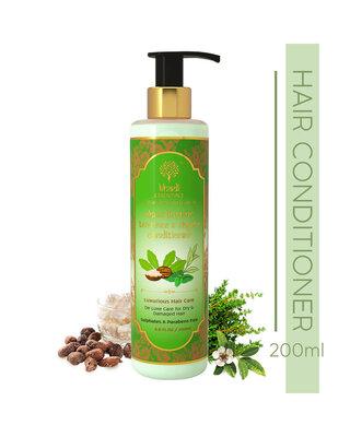 Shop Khadi Essentials Sheabutter, Tea Tree Oil & Thyme Hair Conditioner For Anti Dandruff-Front