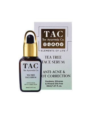 Shop Tea Tree Face Serum Anti-Acne & Spot Correction 30ml/ 1.01 fl. oz-Front