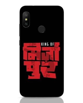 Shop King Of Mirzapur Xiaomi Redmi 6 Pro Mobile Cover-Front