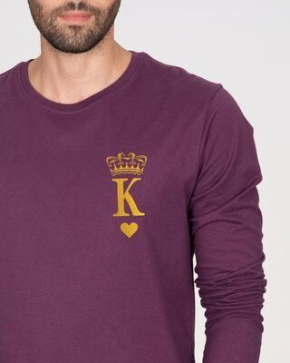 Shop King Pocket Gold  Full Sleeve T-Shirt-Front