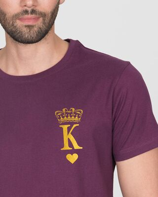 Shop King Pocket Gold Half Sleeve T-Shirt-Front