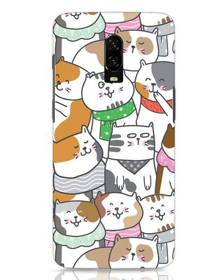 Shop Kitties OnePlus 6T Mobile Cover-Front