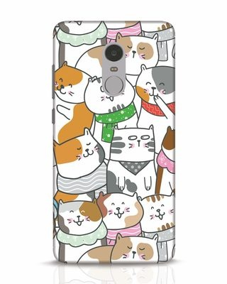 Shop Kitties Xiaomi Redmi Note 4 Mobile Cover-Front