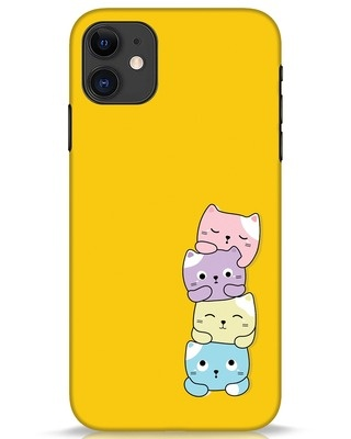 Shop Kitty Cats iPhone 11 Mobile Cover-Front