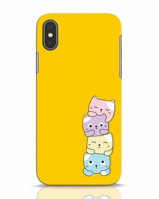 Shop Kitty Cats iPhone X Mobile Cover-Front