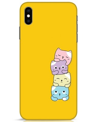 Shop Kitty Cats iPhone XS Max Mobile Cover-Front