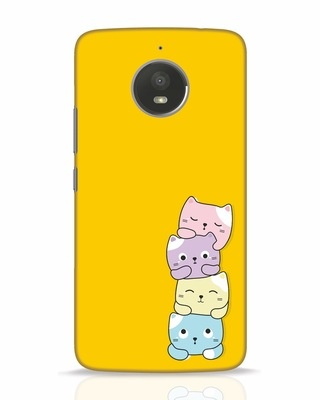 Shop Kitty Cats Moto E4 Plus Mobile Cover-Front