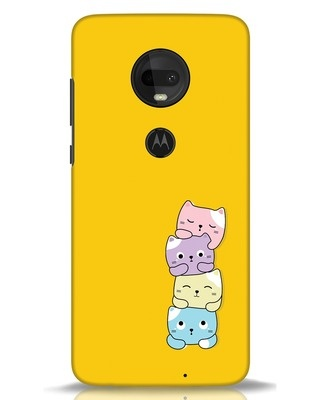 Shop Kitty Cats Moto G7 Mobile Cover-Front