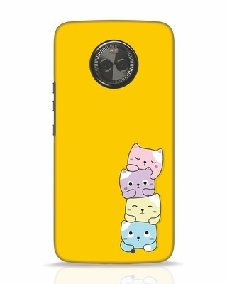 Shop Kitty Cats Moto X4 Mobile Cover-Front