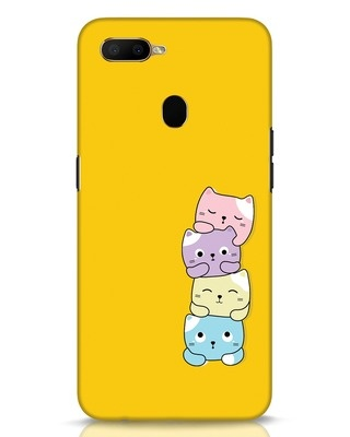 Shop Kitty Cats Oppo A5s Mobile Cover-Front
