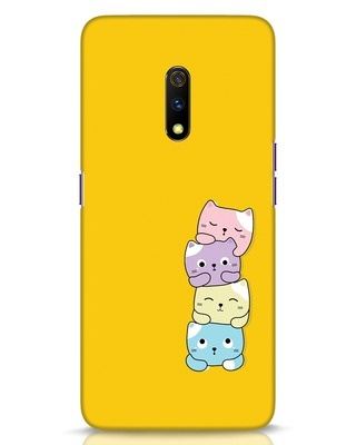 Shop Kitty Cats Realme X Mobile Cover-Front
