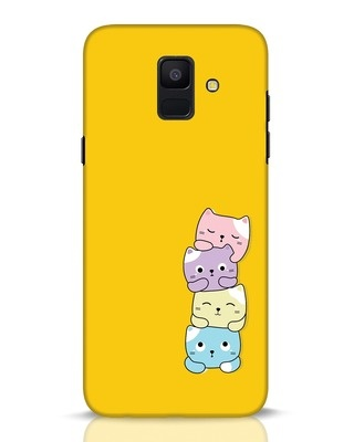 Shop Kitty Cats Samsung Galaxy A6 2018 Mobile Cover-Front